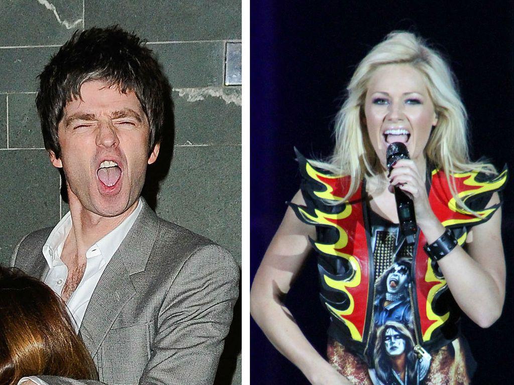 Helene Fischer und Noel Gallagher