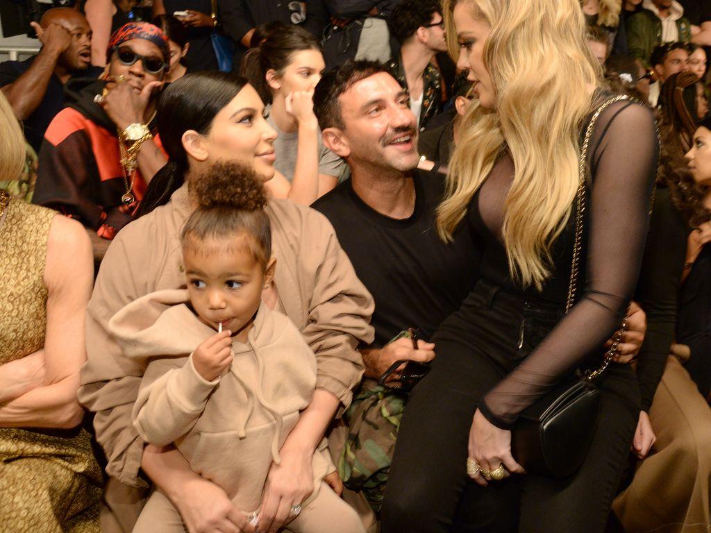 Khloe Kardashian, Kim Kardashian und North West