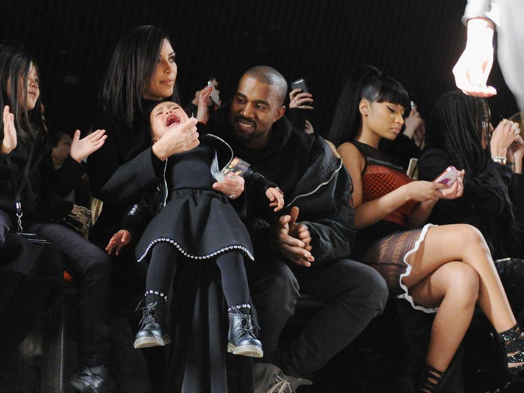 Kim Kardashian, Kanye West und North West
