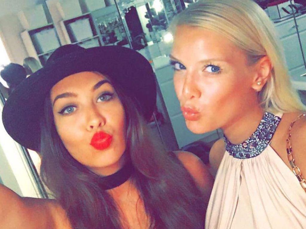 Oksana Kolenitchenko und ihre Schwester Palina Kolenitchenko