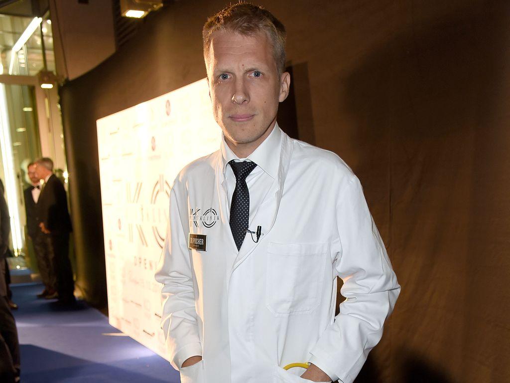 """Oliver Pocher bei der Eröffnung von """"Health Care Kö Men's Beauty in Düsseldorf"""