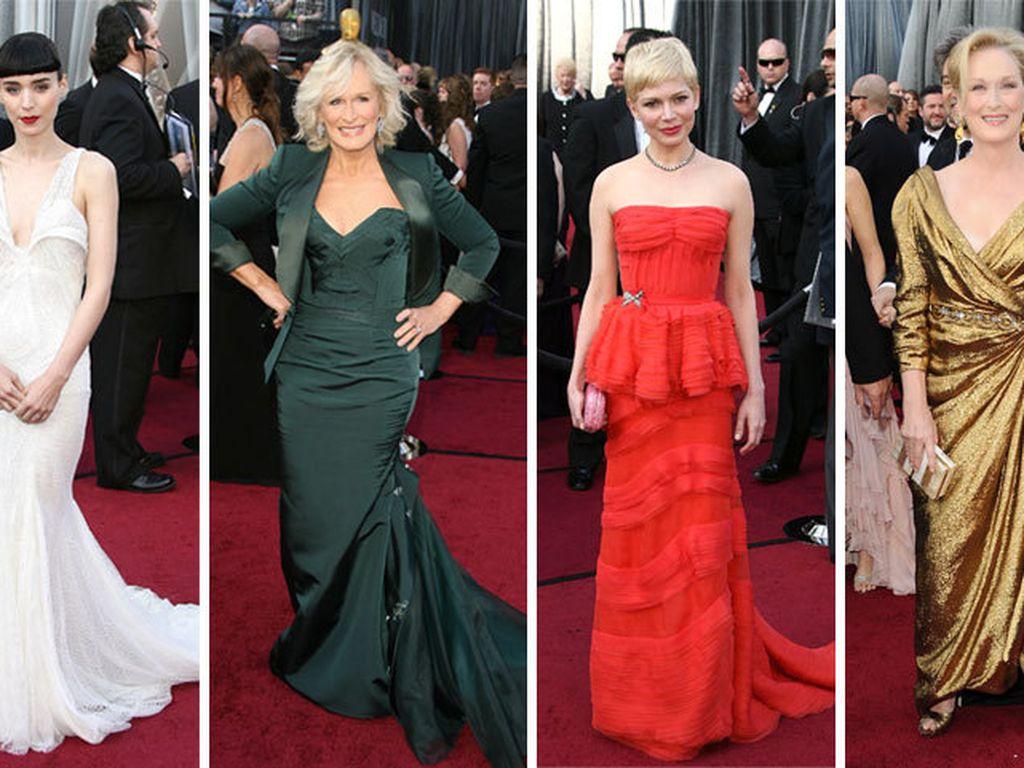 Rooney Mara, Michelle Williams, Meryl Streep, Viola Davis und Glenn Close