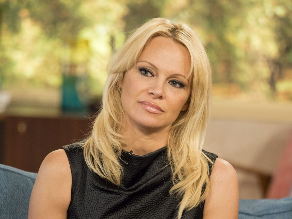 "Pamela Anderson bei ""This Morning"""