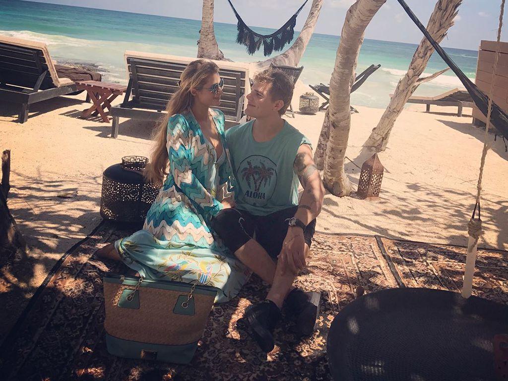 Paris Hilton und Chris Zylka im Mexiko-Urlaub