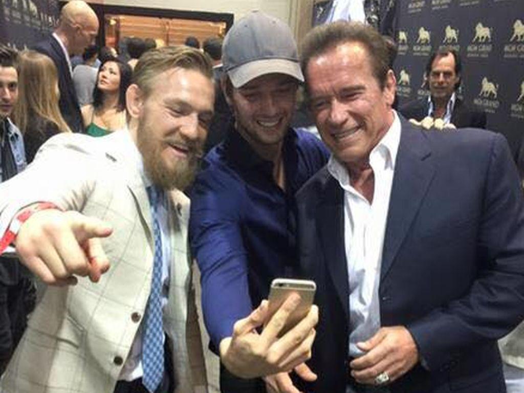 Arnold Schwarzenegger und Patrick Schwarzenegger