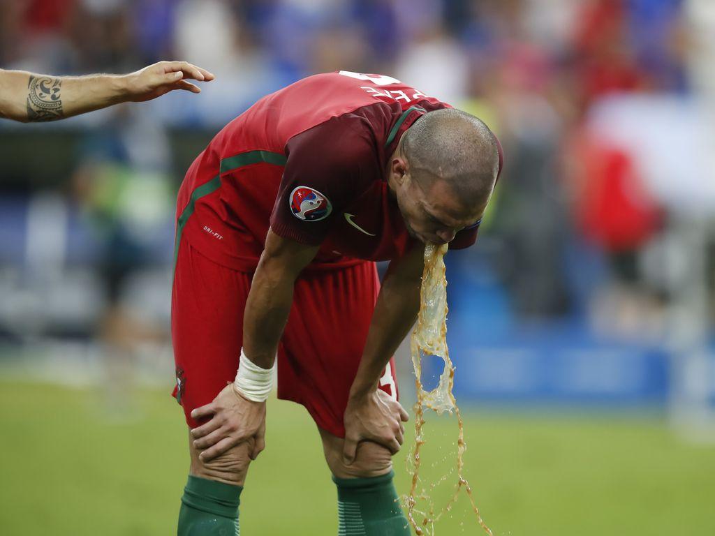 Pepe im EM-Finale Portugal gegen Frankreich bei der Fussball-EM