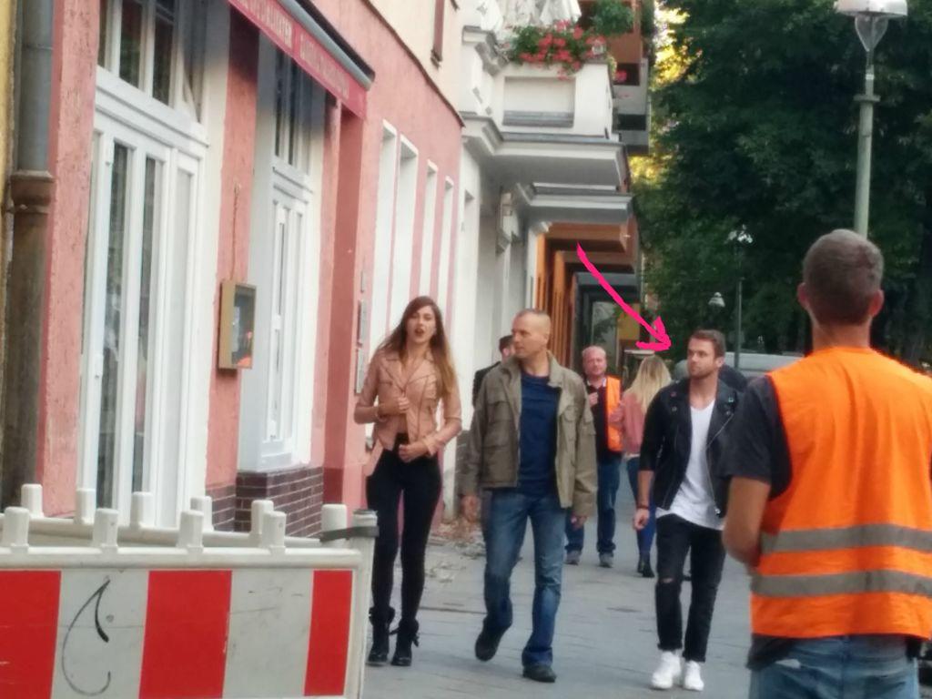 Philipp Stehler bei Dreharbeiten zu seiner neuen TV-Serie