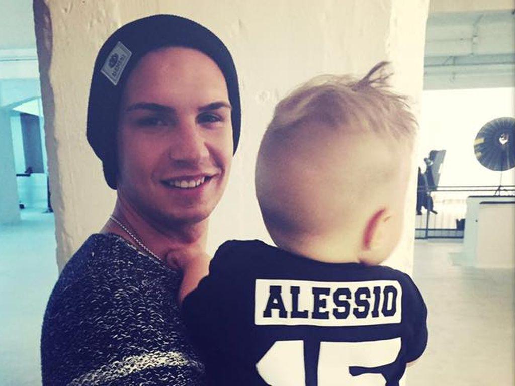 Pietro Lombardi mit Sohn Alessio