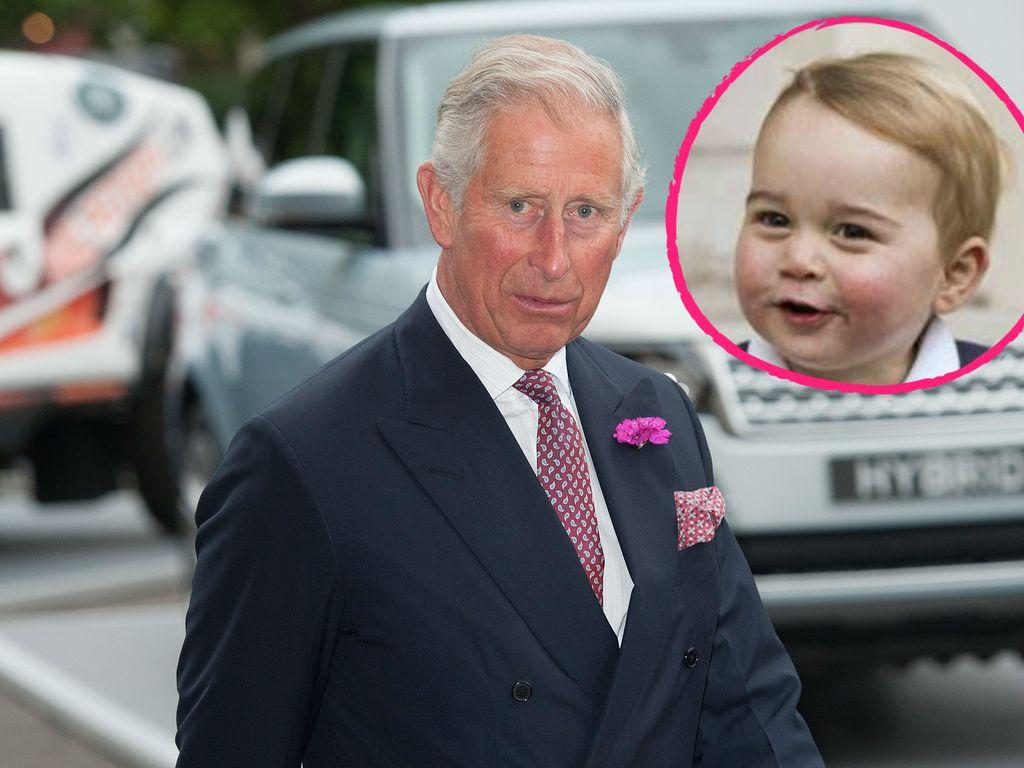 Prinz George und Prinz Charles