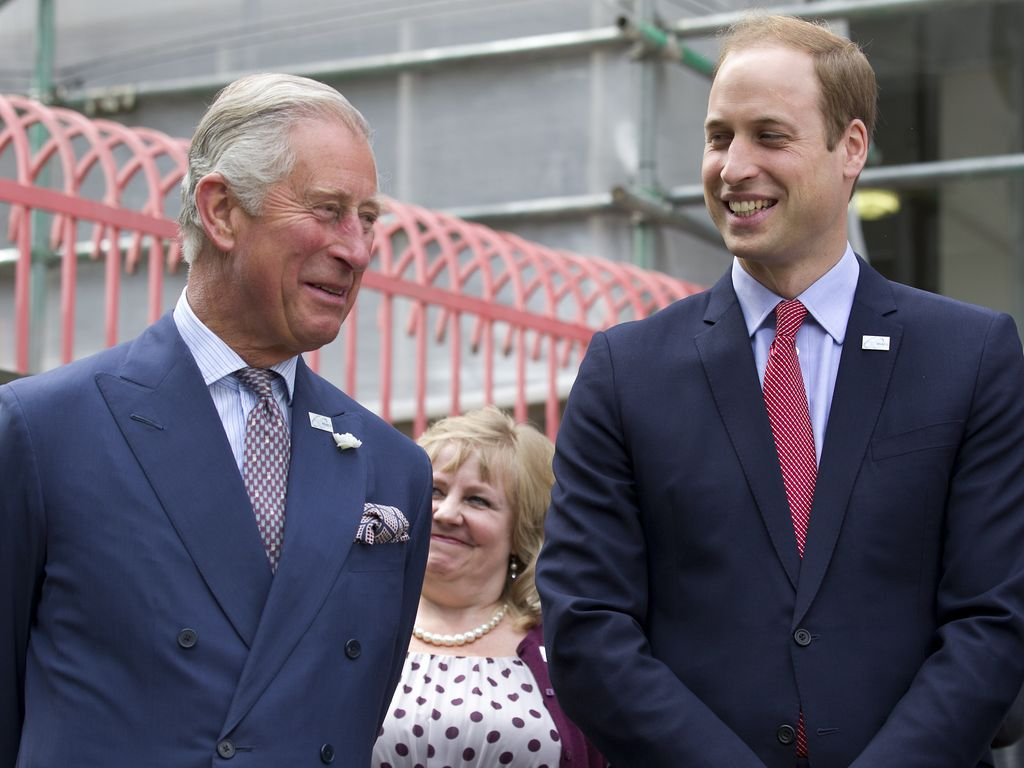 Prinz Charles und Prinz William