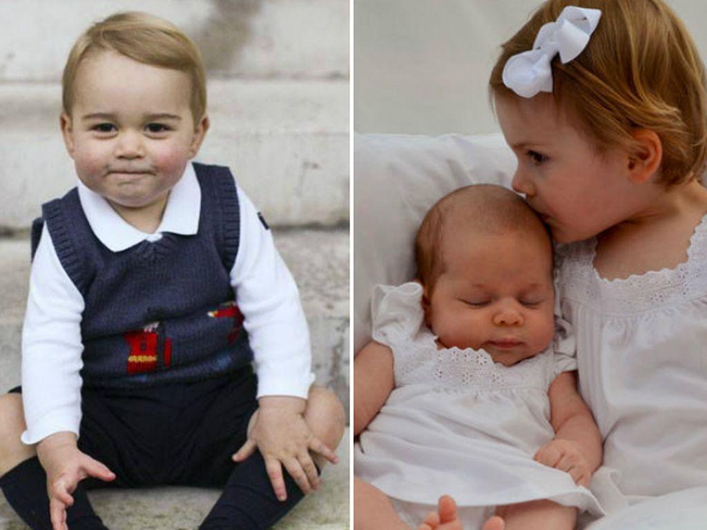 Prinzessin Leonore von Schweden, Prinzessin Estelle von Schweden und Prinz George
