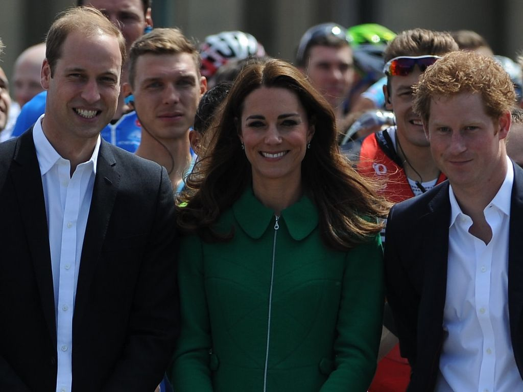 Herzogin Kate, Prinz Harry und Prinz William