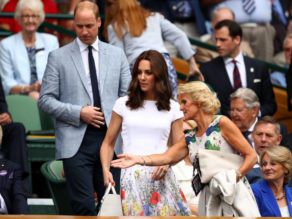 Prinz William mit seine Frau Herzogin Kate