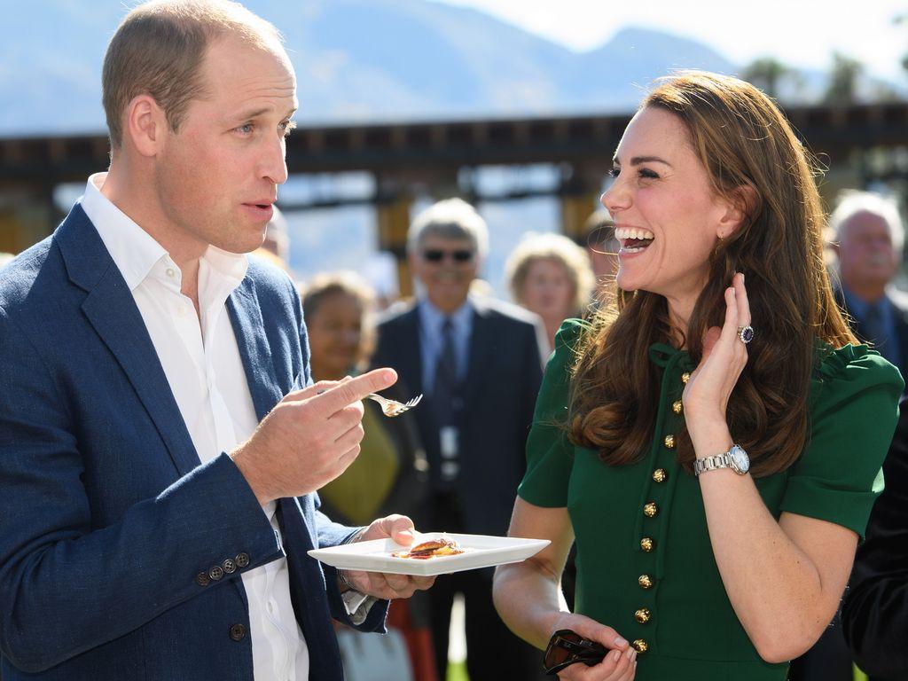 Prinz William und Herzogin Kate bei einer Verkostung in Kanada