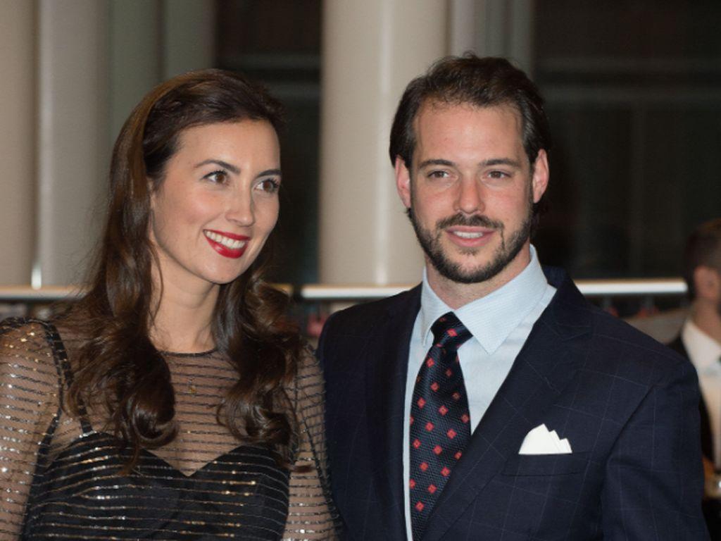 Prinzessin Claire und Prinz Felix von Luxemburg beim 95. Geburtstag von Großherzog Jean