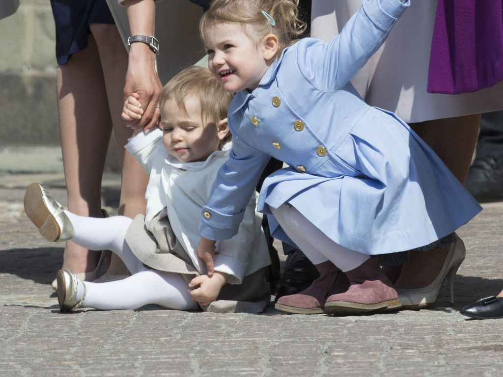 Prinzessin Leonore von Schweden und Prinzessin Estelle von Schweden