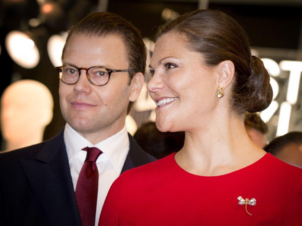 Prinzessin Victoria von Schweden und Prinz Daniel von Schweden