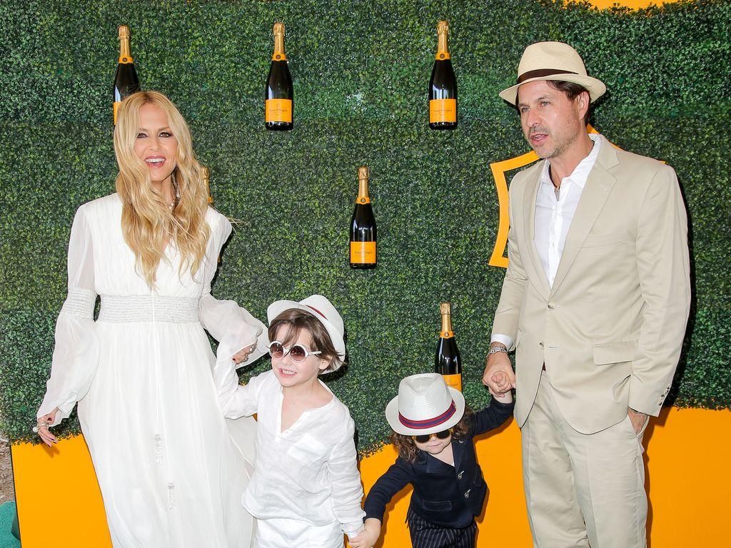Rachel Zoe und ihre Familie bei einem Event