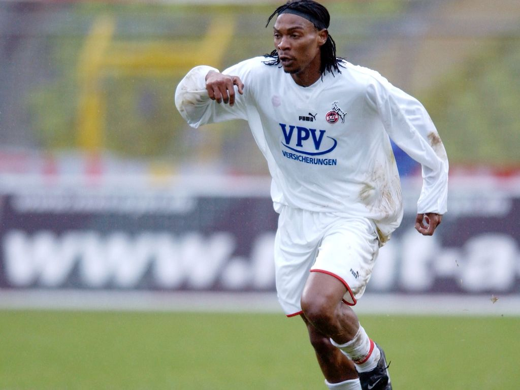 Ex-Bundesliga-Star Rigobert Song im Jahr 2002