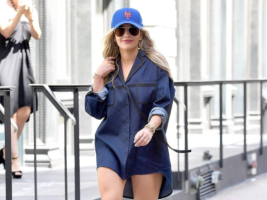 Rita Ora bei einem Spaziergang in New York City