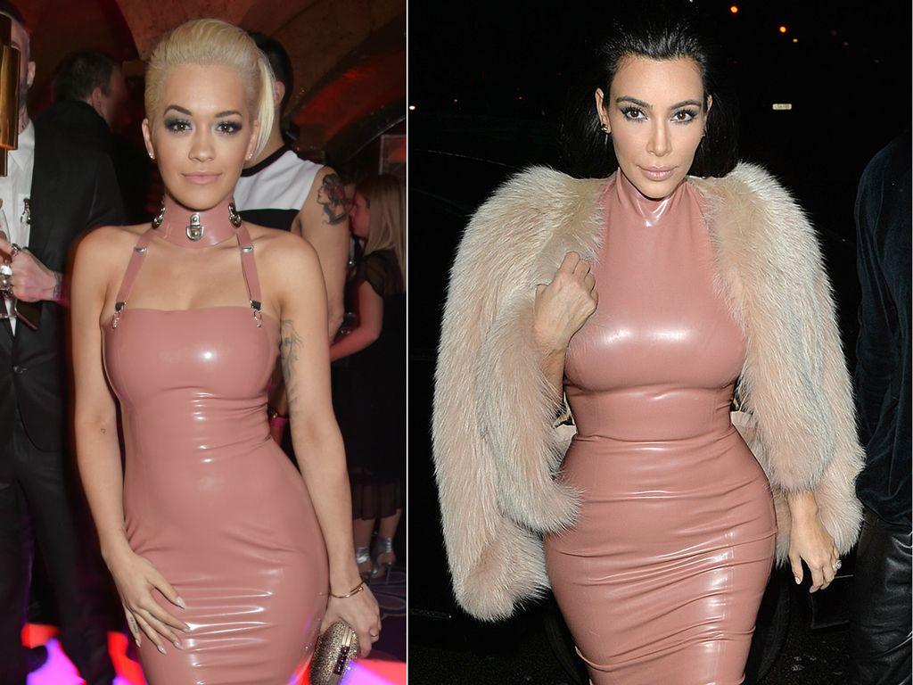 Kim Kardashian und Rita Ora