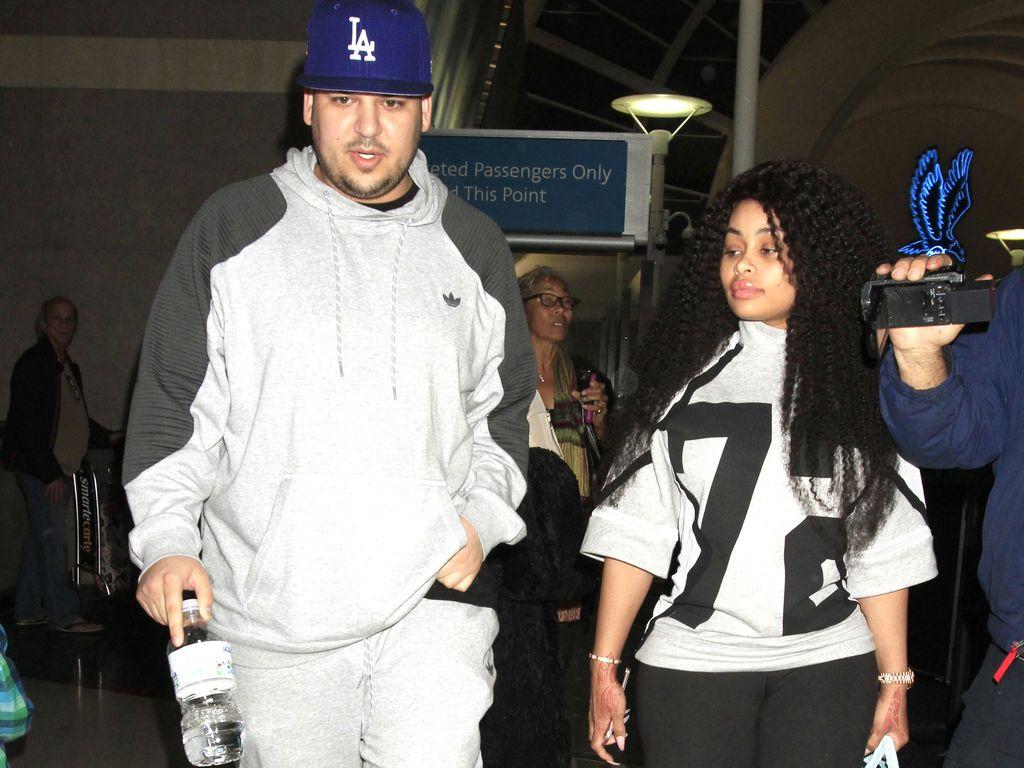 Robert Kardashian und Blac Chyna