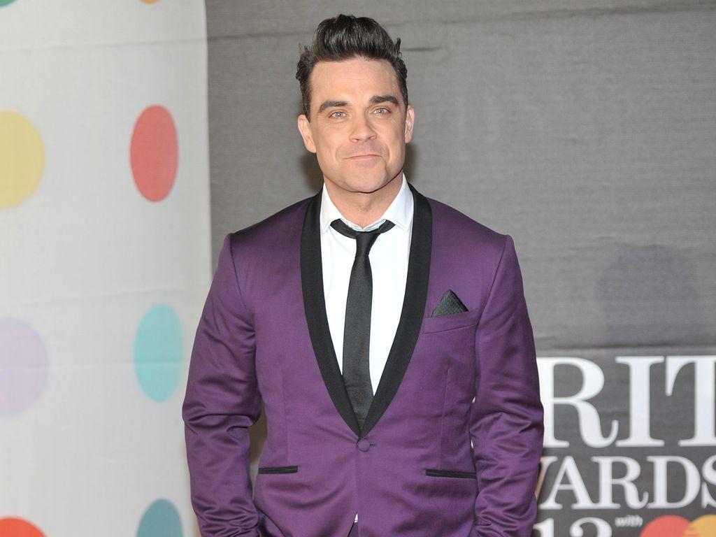 Robbie Williams bei den Brit Awards
