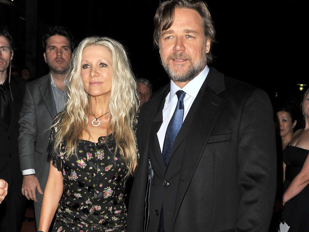 Russell Crowe und Danielle Spencer