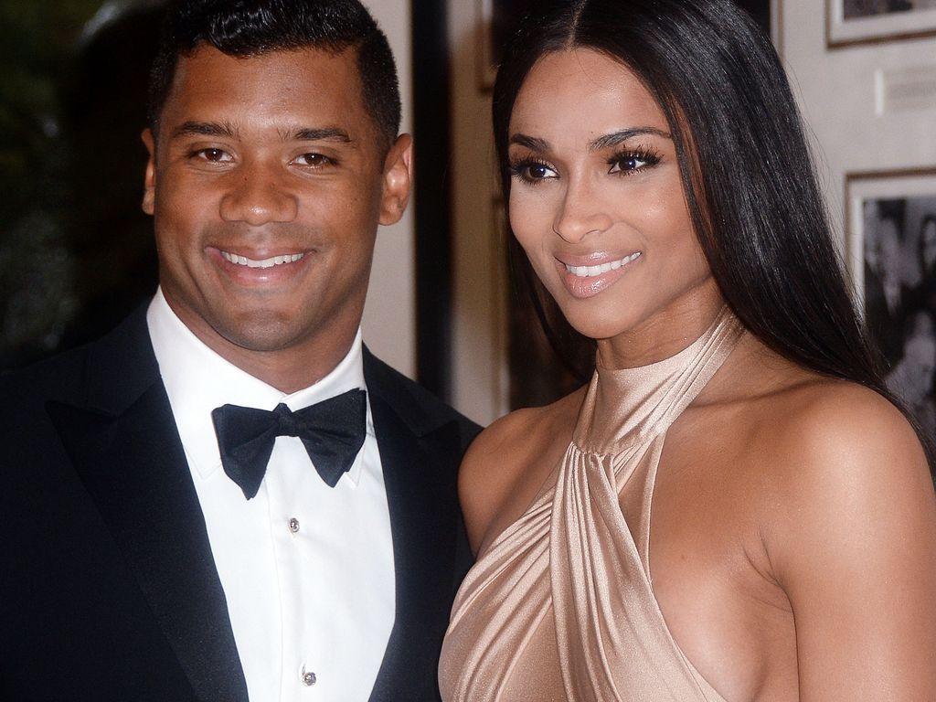 Ciara und Russell Wilson