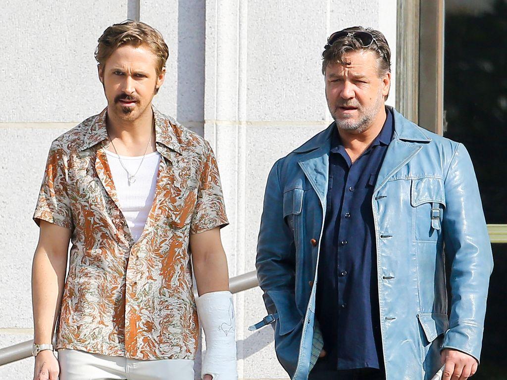 Ryan Gosling und Russell Crowe
