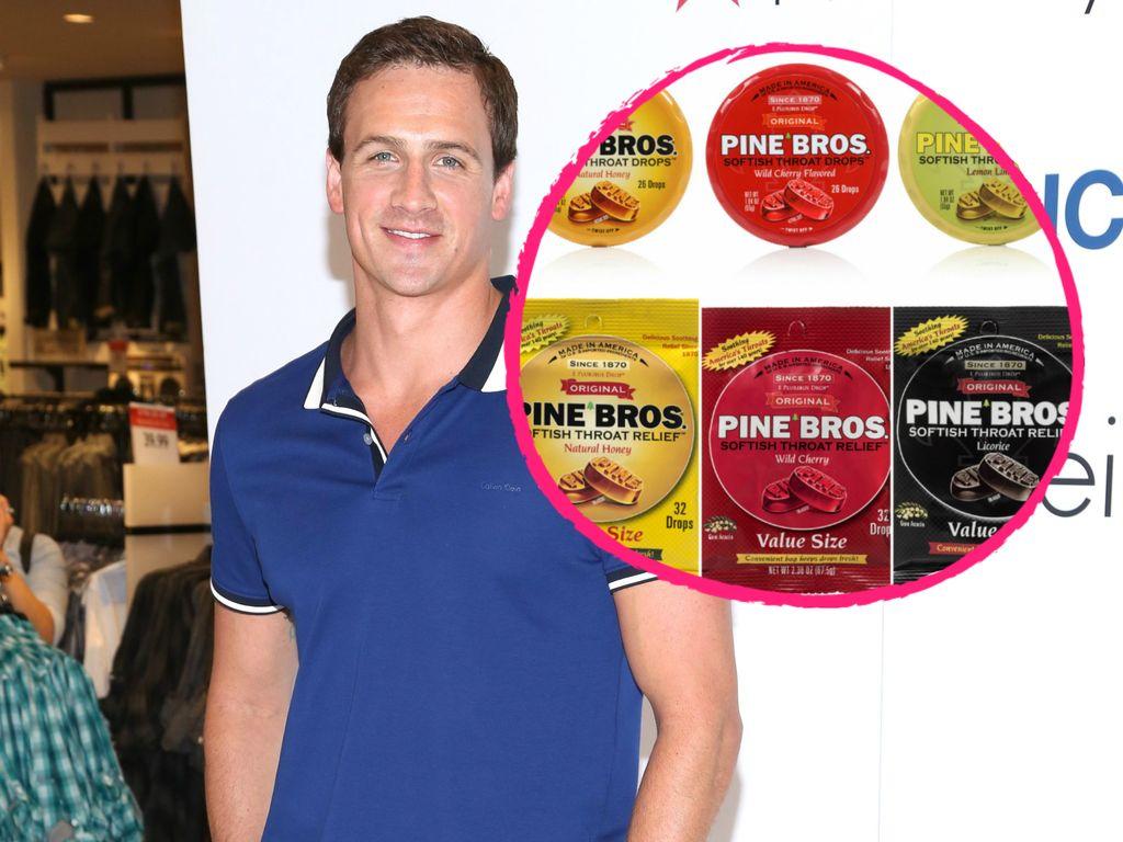 Ryan Lochte wird Sponsor für Pine Bros.