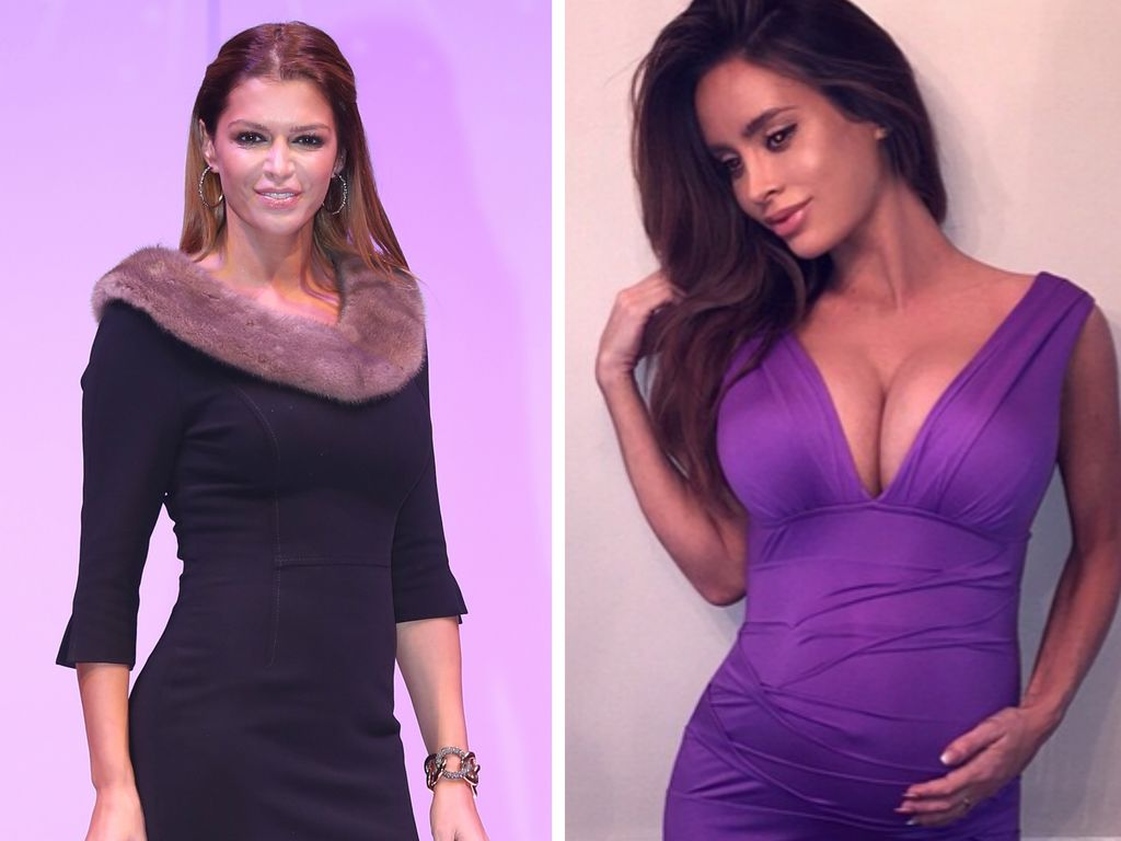 Sabia Boulahrouz und Sarah Stage