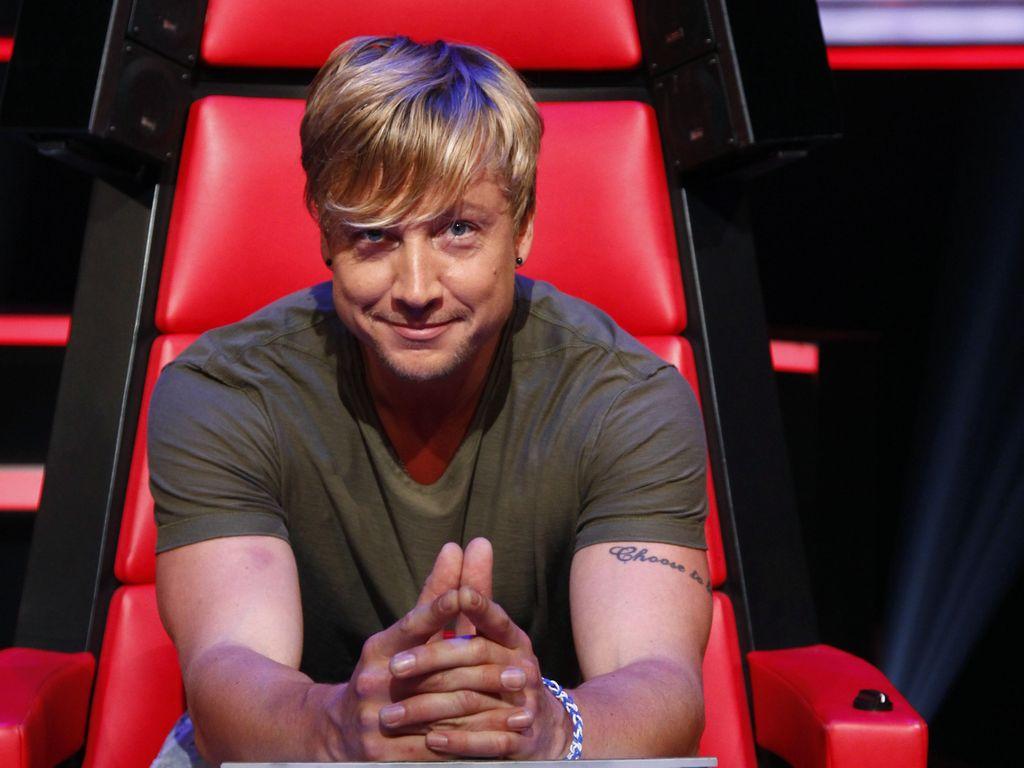 "Samu Haber als Coach bei ""The Voice of Germany"""
