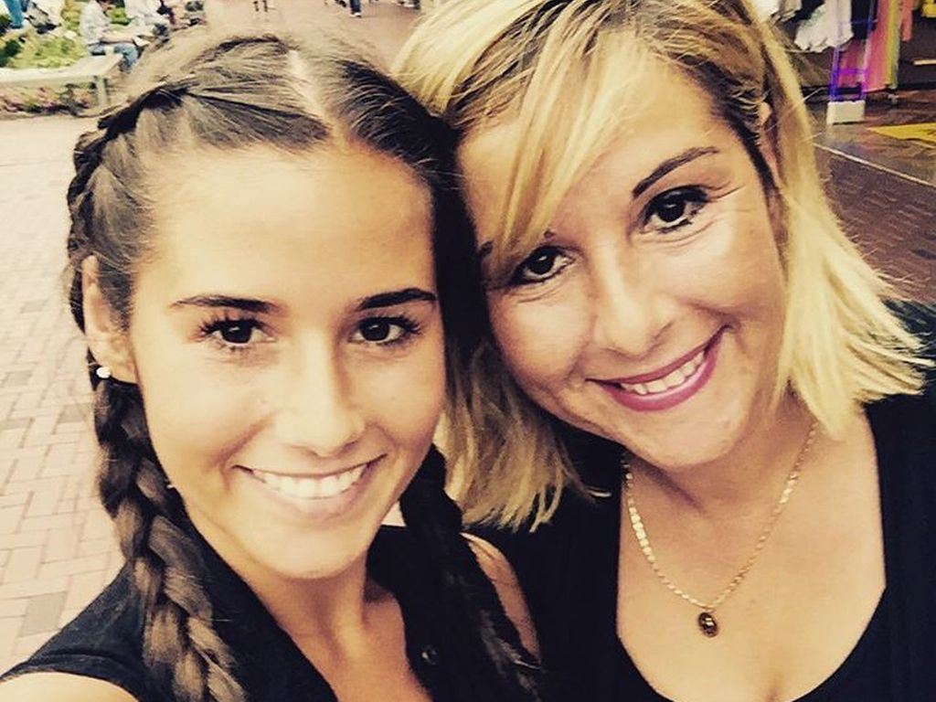 Sarah Lombardi mit ihrer Mutter Sonja