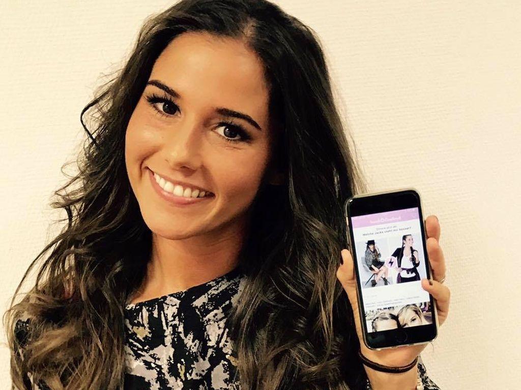 Sarah zeigt ihre neue App