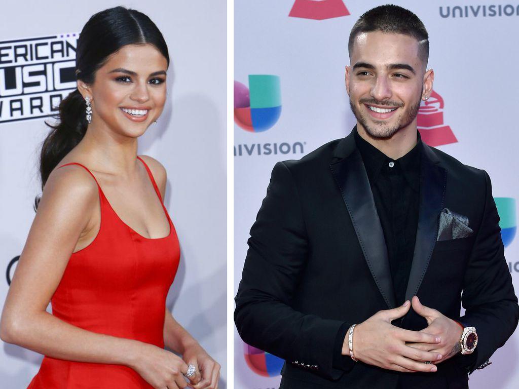 Selena Gomez und Sänger Maluma