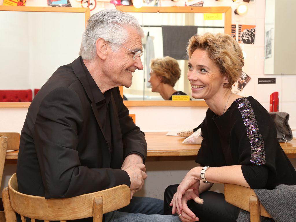 Schauspieler Sky du Mont und Kabarettistin Christine Schütze