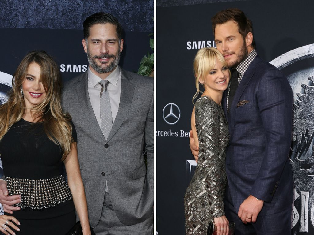 Joe Manganiello, Sofia Vergara, Chris Pratt und Anna Faris