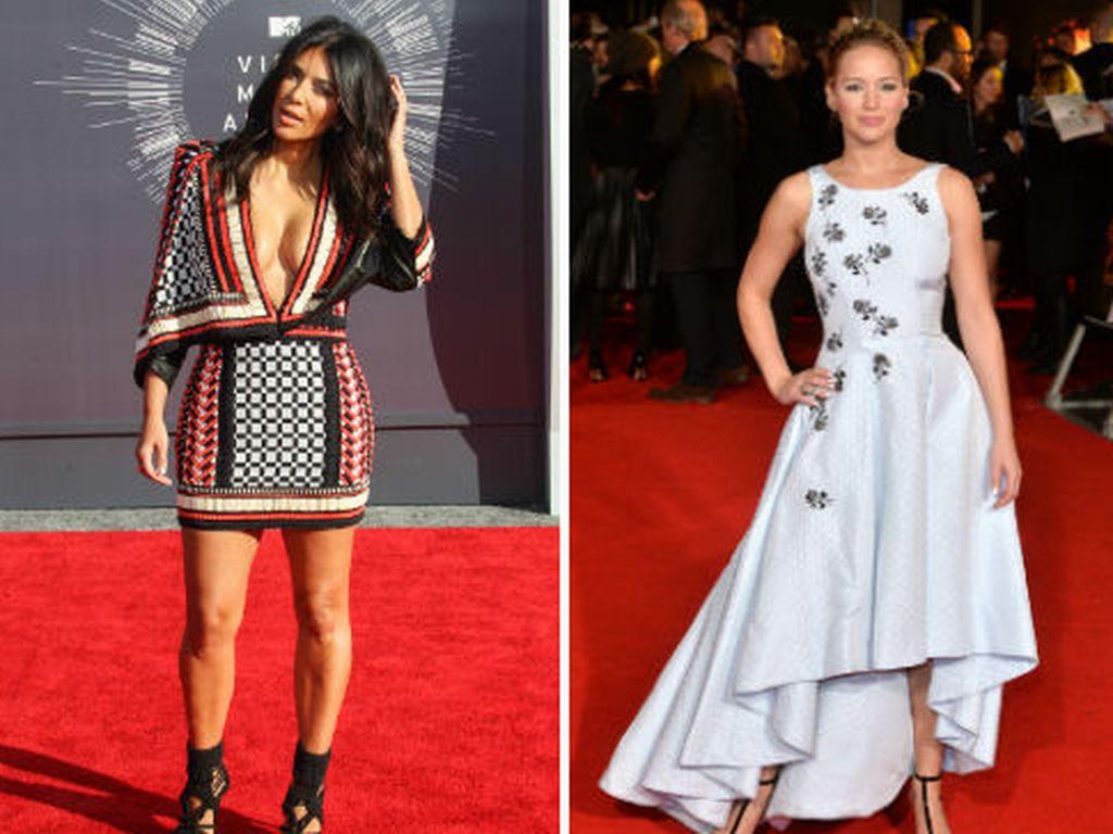 Kim Kardashian, Jennifer Lawrence und Heike Makatsch