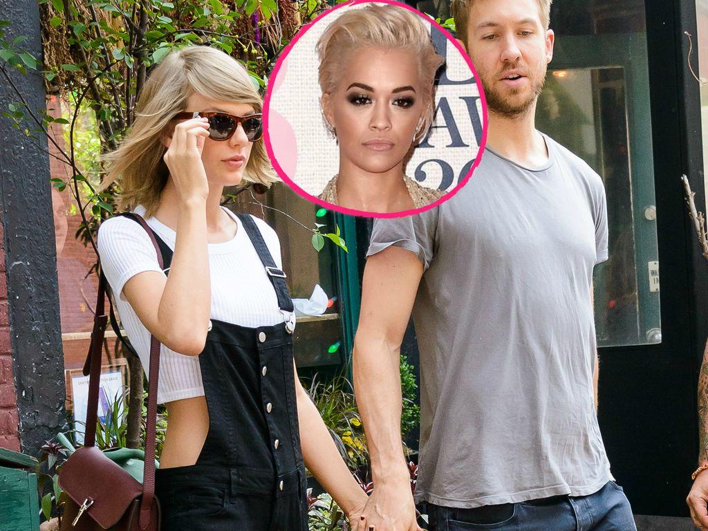 Calvin Harris, Taylor Swift und Rita Ora