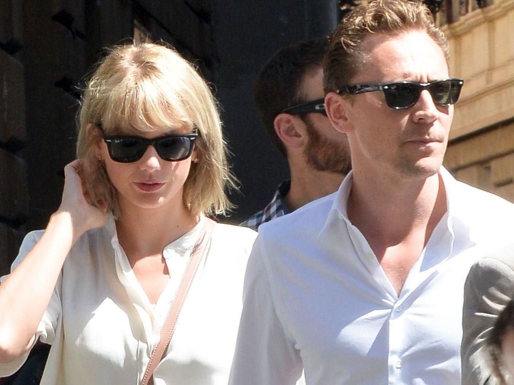 Taylor Swift und Tom Hiddleston bei einem Spaziergang in Rom 2016