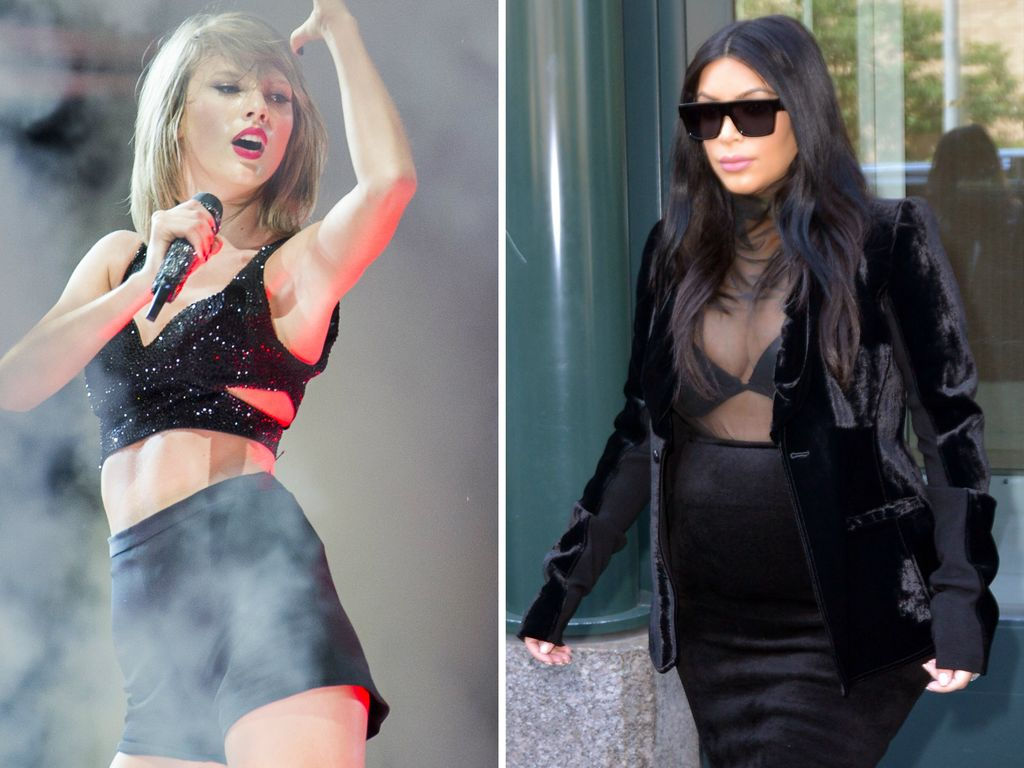 Taylor Swift und Kim Kardashian