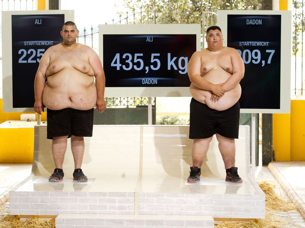 "Team Schwarz von ""The Biggest Loser"""