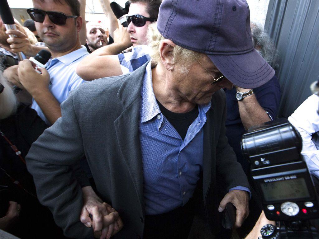Terence Hill bei der Prozession für Bud Spencer in Rom