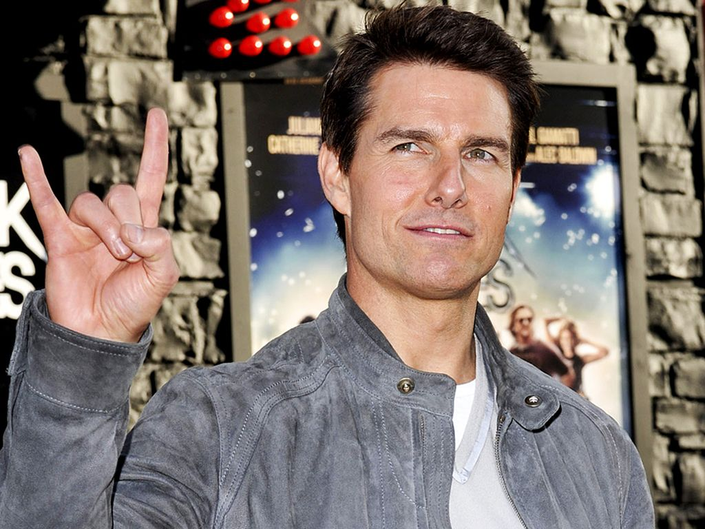 Tom Cruise ist ready to rock