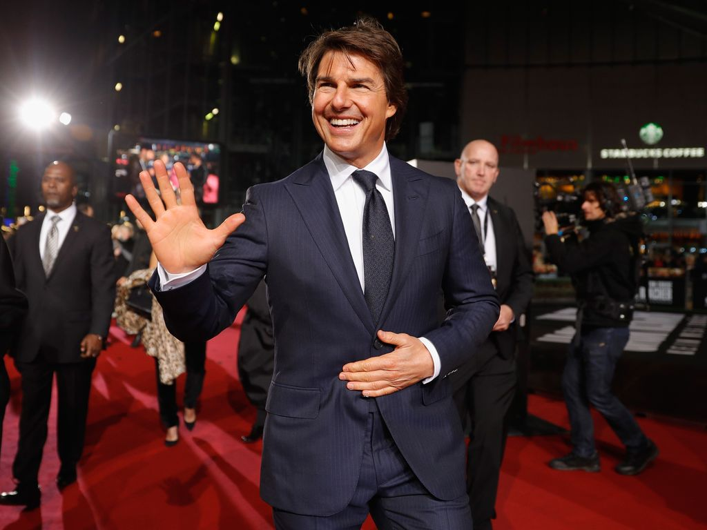 Tom Cruise auf dem Red Carpet in Berlin