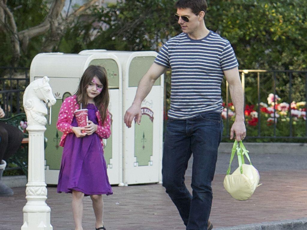 Suri Cruise und Tom Cruise