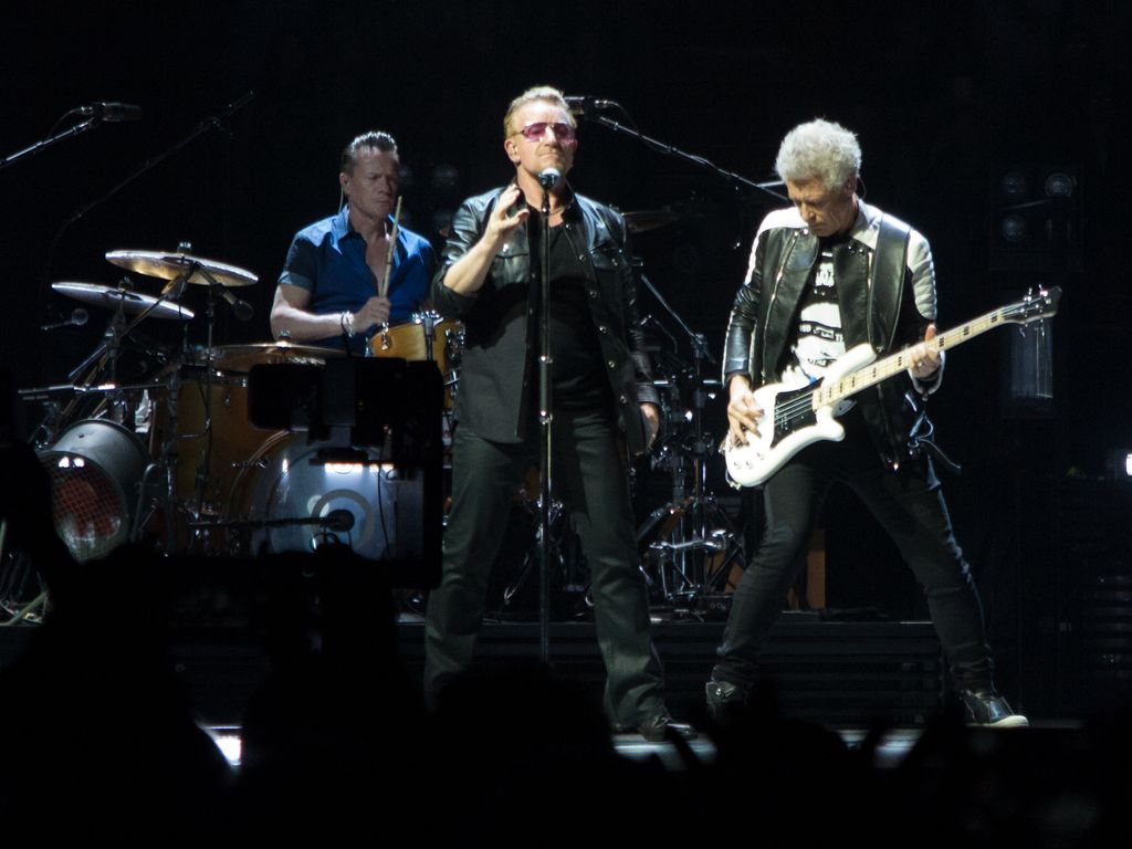 U2 und Bono