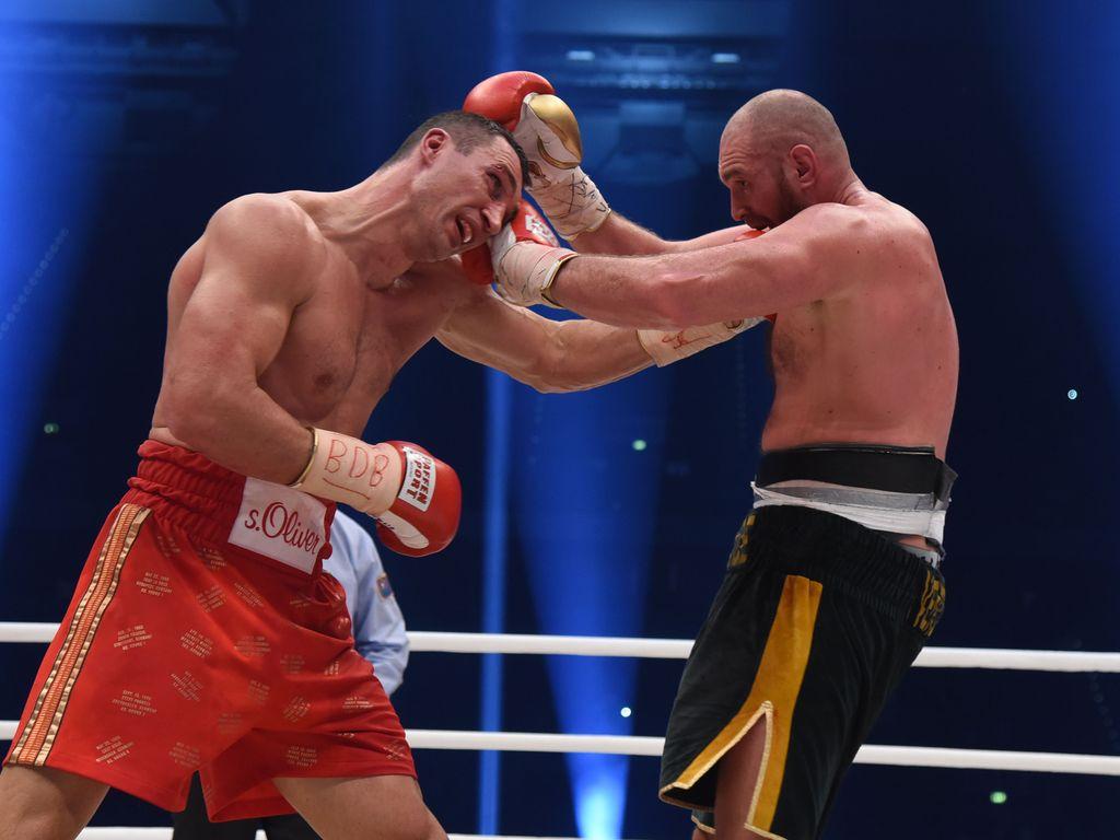 Wladimir Klitschko und Tyson Fury