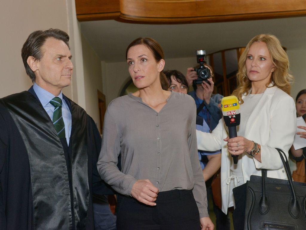 Wolfgang Bahro, Katja Burkard und Ulrike Frank